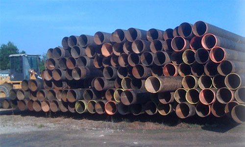 Please call Alpha Pipe for all of your new or used steel pipe needs!