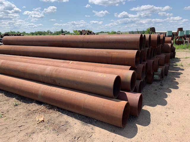 20x500 New Steel Pipe