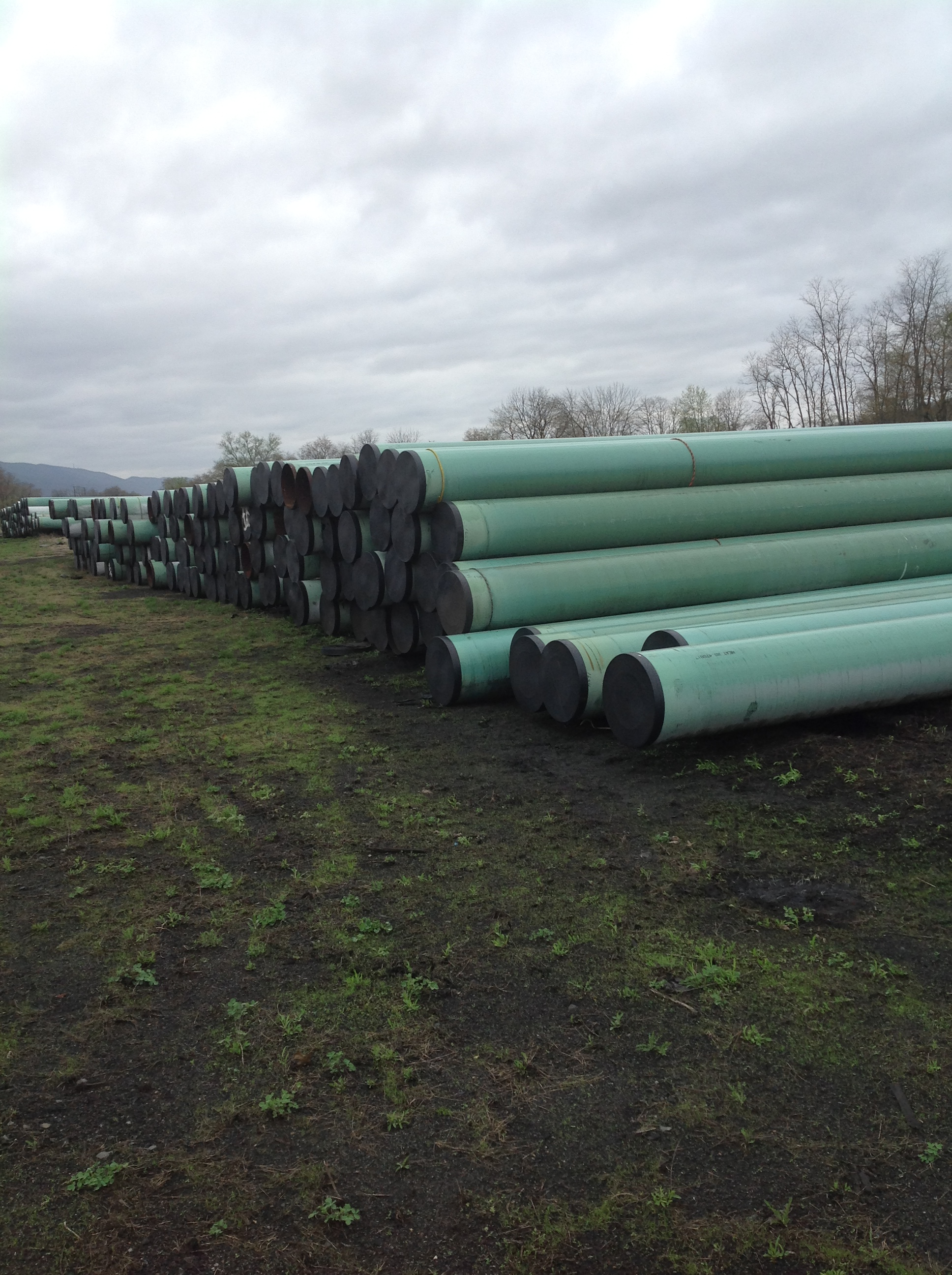 24x375 New Steel Pipe